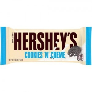 Czekolada Hersheys Cookies and Creme 43g USA