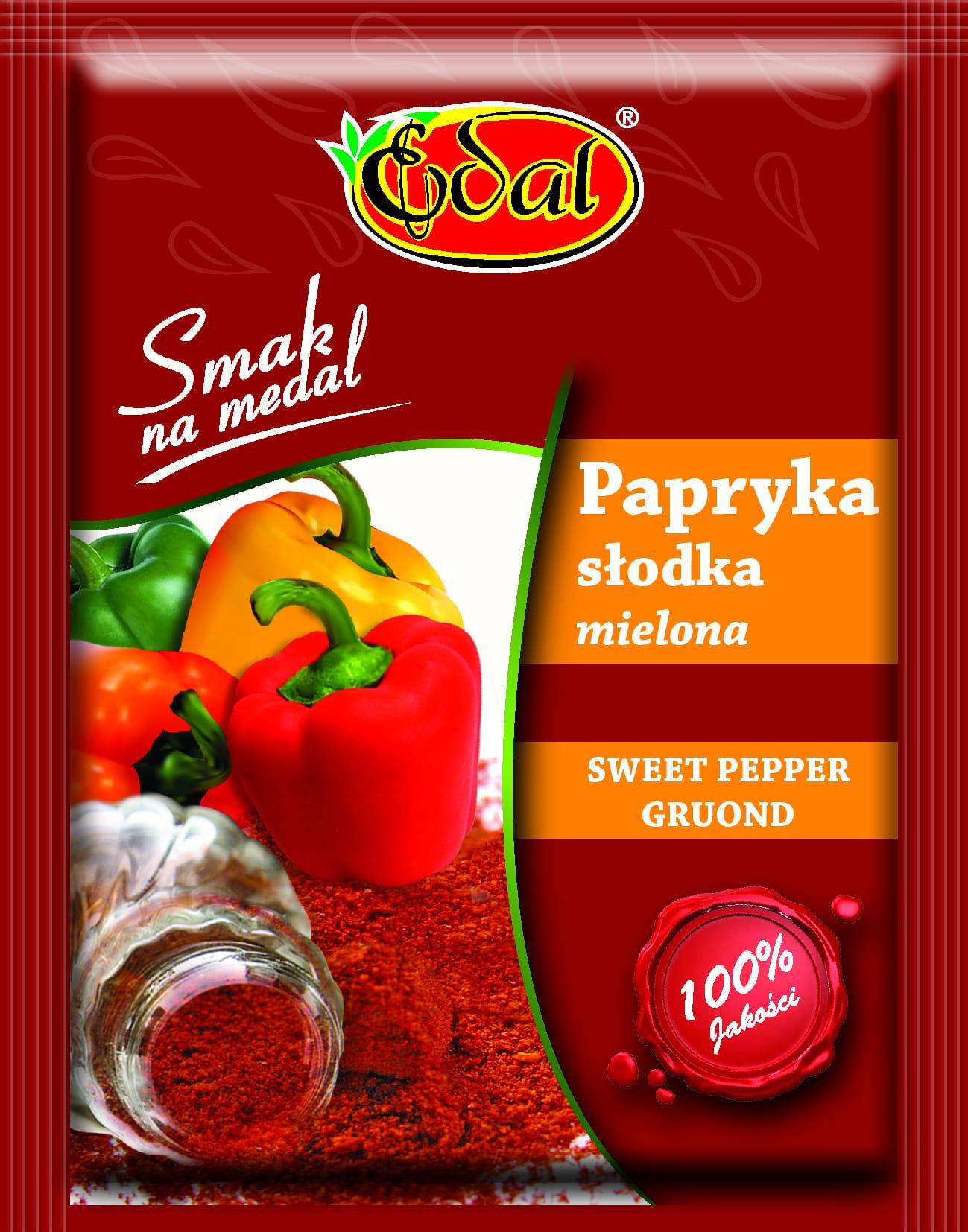 Image of Przyprawa Papryka Słodka 5x20g Edal