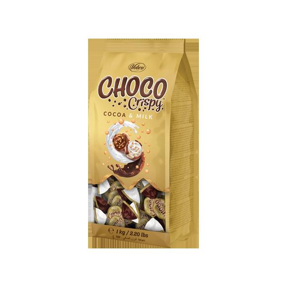 Cukierki Choco Crispo 1KG Vobro z Chrupkami
