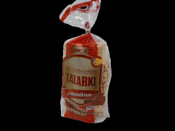 Ciasteczka Talarki z błonnikiem 110 g Dieta