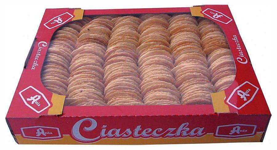 Ciasteczka Owsiane Naturalne Ania Bez Cukru 1kg