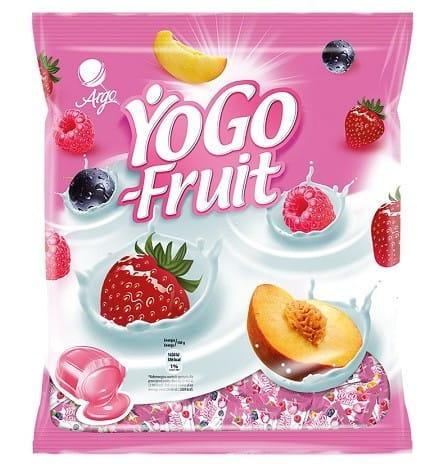 Yogo Fruit Argo cukierki owocowo-jogurtowe 120g