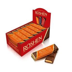 Baton Chocolate & Caramel Roshen 30x40g