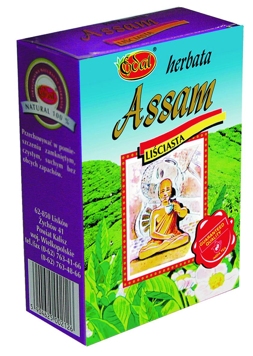 Herbata liściasta Assam – kartonik 100 g Edal