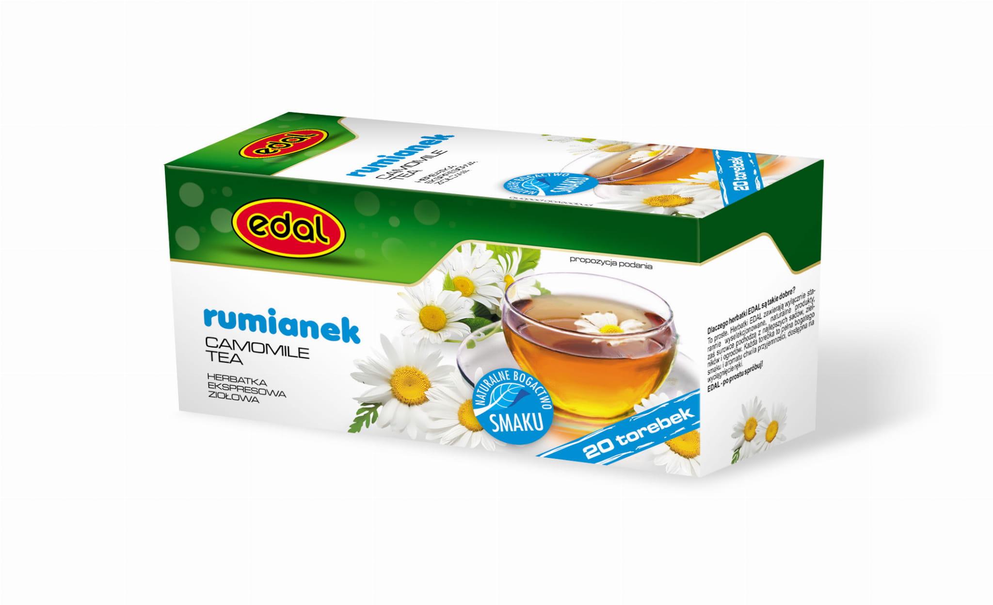 Herbatka ekspresowa ziołowa Rumianek 30 g Edal