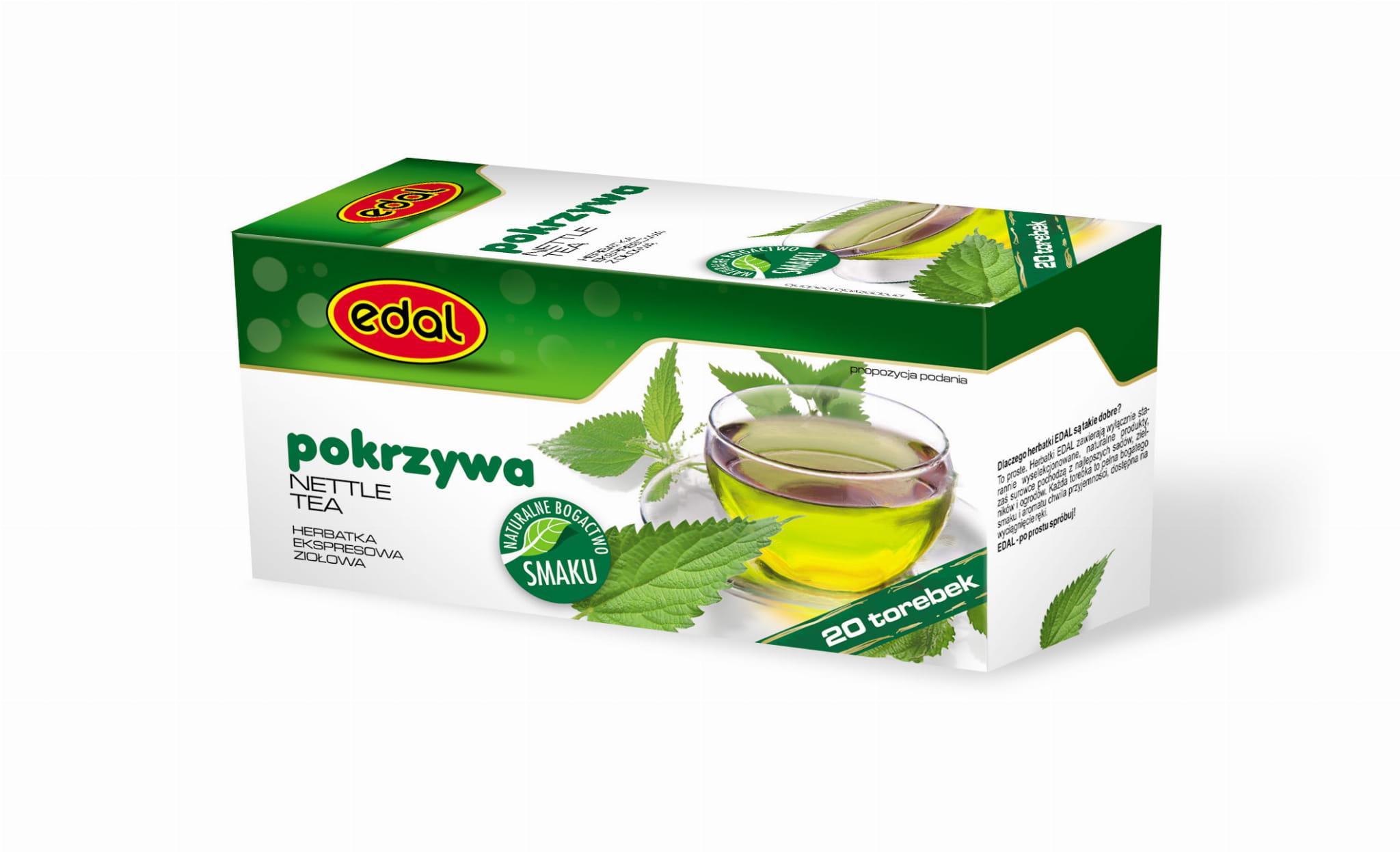 Herbatka ekspresowa ziołowa Pokrzywa 30 g Edal