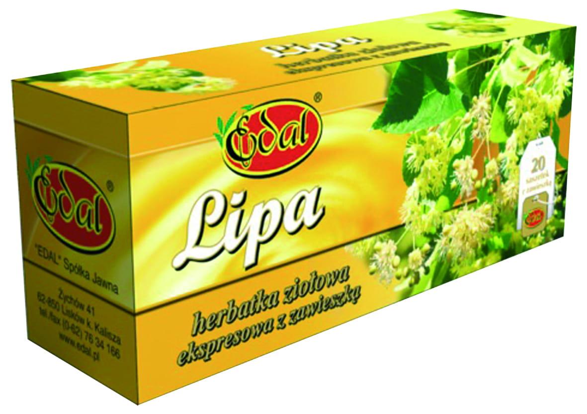 Herbatka ekspresowa ziołowa Lipa 20 g Edal