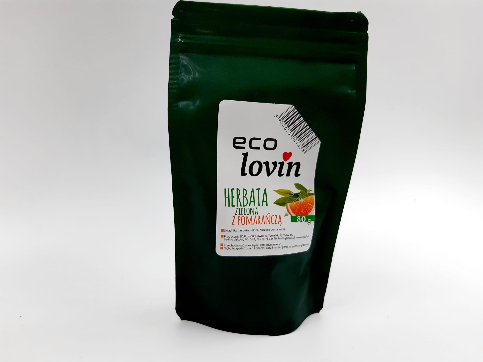 Herbata Zielona liściasta Eco Lovin Edal
